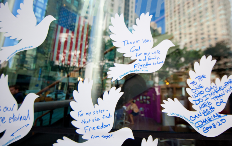 9/11 10th Anniversary Doves Campaign 2