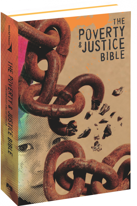 Poverty and Justice Bible Cover